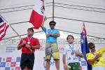 Grand Kahunas Winners. Allen Sarlo (USA), Javier Huarcaya (PER), Rod Baldwin (AUS), Craig Schieber (CRI). Credit:ISA/Rommel Gonzales
