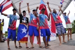 Puerto Rico -  Bronze medal at the ISA Aloha Cup. Credit:ISA/Rommel Gonzales