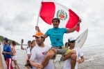 PER - Javier Huarcaya, Grand Kahunas Gold Medalist.  Credit:ISA/Shawn Parkin
