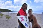Sunny García (HAW) & Sonia ´Pucha´García (PAN). Credit: ISA / Rommel Gonzalez