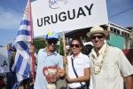 Marcelo Matos (URU) and ISA President Fernando Aguerre. Credt: ISA / Rommel Gonzales
