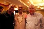 Ernie Alvarez (PUR), ISA President Fernando Aguerre and Minister of Tourism Mario Salinas. Credit:ISA/Rommel Gonzalez